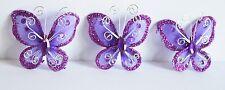 12 X Recuerdos Mariposa Decoracion Bautizo Nina Girls Butterfly Favors Purple