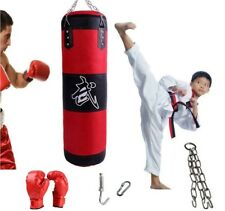 Unfilled Heavy Duty Punching Bag Boxing Practice Martial Arts Training Exercise