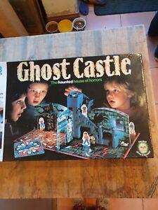 Original 1985 Vintage Ghost Castle Board Game MB Games