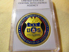 Central Intelligence Agency (CIA) Shield Challenge Coin