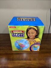 New Hands-On Teaching Globe w/Stand Lakeshore 10 Inches High Geography Class