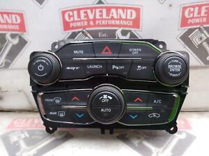 2017-2018 Dodge Challenger SRT Hellcat OEM Heater Climate Vehicle Radio Controls