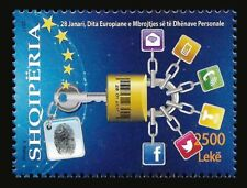"ALBANIA 2017 ""The European Day Personal Data Protection"" - Set MNH"
