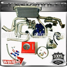 TD0516G Turbo Kits Downpipe + Intercooler Piping Kits 06-10 Mazda 3 2.0L