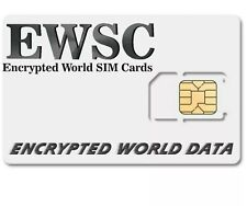 Encrypted SIM Cards 3 Months Unlimited World Calls