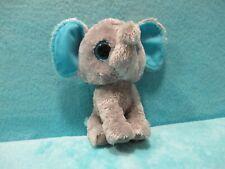 """Ty Beanie Boos Boo - Peanut Blue Elephant - Soft Plush Stuffed Teddy Toy 6"""""""