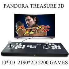 ALL Metal 2200 Games Pandora Treasure 3D Arcade Console Machine Retro Video Game
