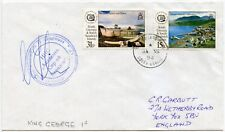 ANTARCTIC FALKLANDS RUSSIAN SHIP CACHET SIGNED KING GEORGE ISLAND S.SHETLANDS