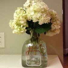 Large Mint Condition Patron Silver Tequila Bottle Cork 1.75 L Vase Lamp