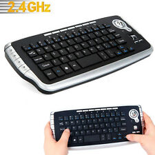 Mini 2.4Ghz Wireless Keyboard Smart Touchpad With Mouse For PC PS4 Smart TV UK