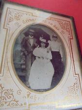 25309 Fotografie Portrait Erinnerung an das Jahr 1899 montiert orig Passepartout