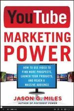 YouTube Marketing Power by Jason Miles (2013, Paperback)