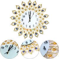 Wanduhr Moderne Diamant Wanduhr Küchenuhr Wohnzimmer Uhr Dekor Bürouhr Metall