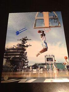 Harrison Barnes Golden state warriors autographed 8x10 North Carolina