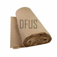 "20 Metre Roll X 72"" Wide 12oz Jute Hessian Cloth. Upholstery Hessian Fabric"