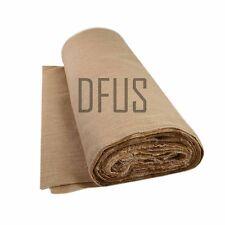 "20 metre roll x 72"" wide, 12oz jute hessian cloth. upholstery hessian fabric"