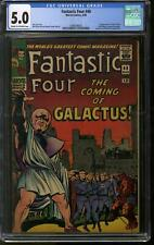 Fantastic Four #48 CGC 5.0 (C-OW) 1st Appearance of the Silver Surfer