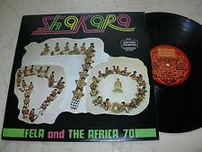 FELA RANSOME KUTE AND THE AFRICA 70 Shakara *EDITIONS MAKOSSA PRESS*
