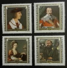 LIECHTENSTEIN STAMPS MNH - Paintings of Famous Guests, 1982, **