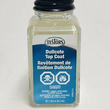 Testors 1160x Lacquer Top Coat Liquid 1 75oz Dullcote