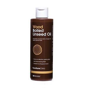 Boiled Linseed Oil - Interior/Exterior Wood Oil - Hard Wearing, Natural Finish