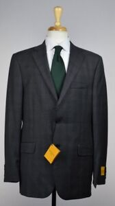 Hickey Freeman Milburn Ii Mens 2-BTN Suit Jacket Size 40 /50 R US NEW $1595