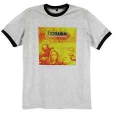 Hanson Pop Rock Band Middle of Nowhere Casual Tee Retro >C184 Men Ringer T-Shirt