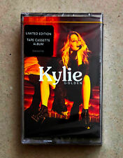 Kylie Minogue Golden Cassette Tape Album RARE Yellow Spools