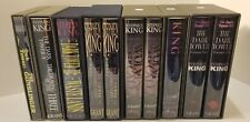 SIGNED/LTD ED: The Dark Towers Series by Stephen King, 10 Volumes in Slipcase