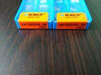 KORLOY LNMX 100605PNR-MM PC6510 10 PCS CARBIDE INSERTS FREE SHIPPING