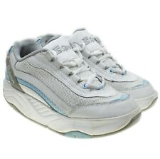 cbef87a0f Therashoe TS Sport Womens White Blue Rockers Toning Walking Shoes size 8.5 M