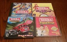 Tonka Space + Garage + Search & Rescue+Workshop Hasbro  PC 4Win95 CDs CIB