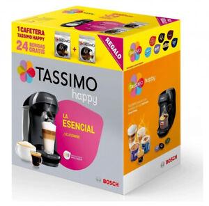 CAFETERA BOSCH TASSIMO HAPPY TAS1002X NEGRA