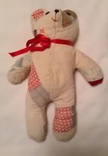Vintage Quilt Bear Teddy Bear (Made From Vintage Quilt)
