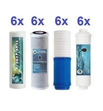 6 Stufen Umkehrosmose Wasserfilter Ersatzfilter SET 3 Jahre + 2in1 Kombi Filter
