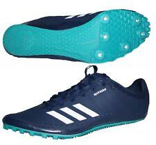 Adidas Sprintstar Laufschuhe Running Schuhe mit Spikes blau Gr. 50 (50 2/3)