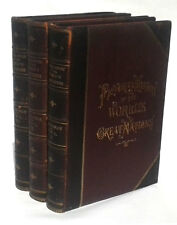 A Pictorial History of the World's Great Nations 3 Volume Set 1882 Yonge, C.