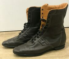 Hermès Lace up Ankle Boots EU:38.5 UK:5.5 RRP£990 Bargain Now Only £199.90