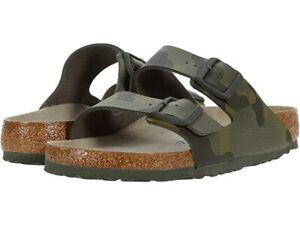 Birkenstock Arizona Birkibu (Unisex) Men/Women summer Sandals Camo Green Soft FT