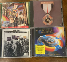 4 ELO Cds Electric Light Orchestra Ole Elo, Greatest Hits, All Over the World