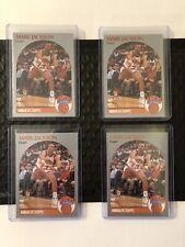 1990 NBA Hoops Mark Jackson Infamous 205 Card Menendez Brothers Four Card Lot