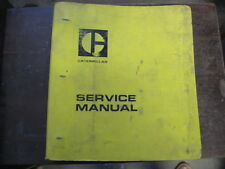 OEM CAT 966 SERVICE SHOP REPAIR Manual Book