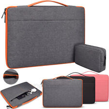 Canvas Waterproof Portable Tablet Bag Case For Apple MacBook Air Pro 13 15 16''