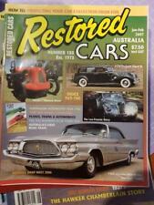 Restored Cars Magazine Number Number 180 Austin 7 Historic Racer 1938 Packard Su