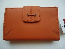 Ladies Mundi Lace Cardex Genuine Leather Wallet, Orange