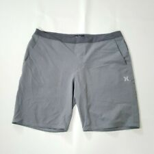 Hurley Men's Two Tone Dri-Fit Shorts XXL Gray