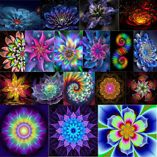 5D DIY Fantasy Flower Embroidery Diamond Painting Cross Stitch Home Decor Crafts