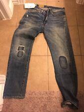 Levis Vintage Clothing 1954 501Z BIG E Cone Selvedge Denim Jeans 32 X 32 $395