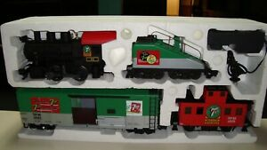 G Scale, new Aristocraft 7-Up train with box.