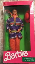 Ken Doll Barbie United Colors of Benetton 1990 NIB Mattel #9406